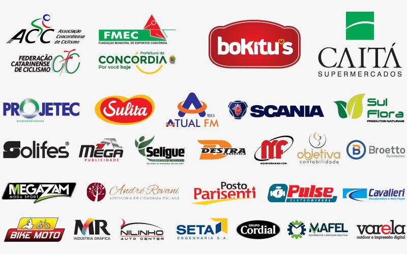 Empresas e entidades parceiras deste evento